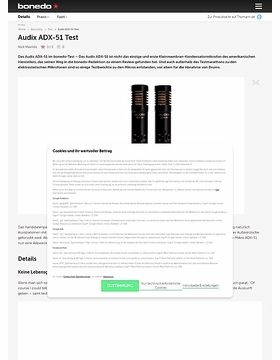 Audix ADX-51 Test
