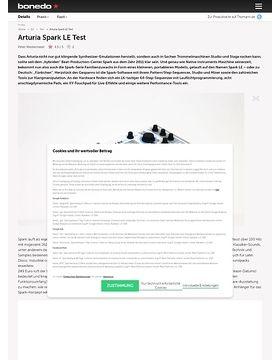 Arturia Spark LE Test