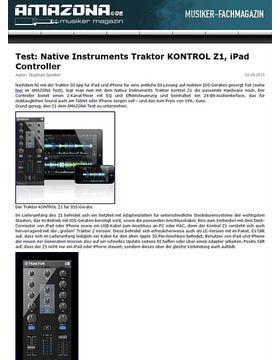 Test: Native Instruments Traktor KONTROL Z1, iPad Controller