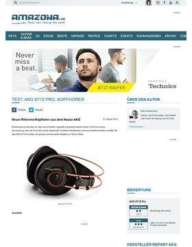 Test: AKG K712 Pro, Kopfhörer