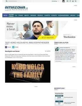 Test: Korg Volca Keys, Analogsynthesizer