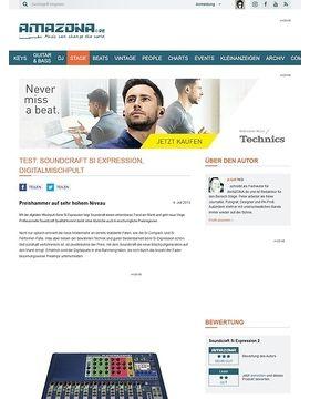 Test: Soundcraft Si Expression, Digitalmischpult