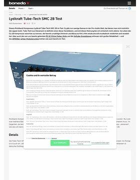 Tube-Tech SMC 2B Test