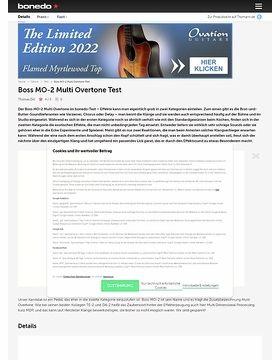 Boss MO-2 Multi Overtone Test