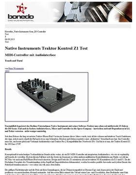 Native Instruments Traktor Kontrol Z1 Test