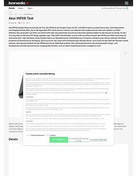 Akai MPX8 Test