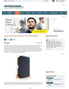 Test: Electro-Voice ZLX-15P, Aktivbox