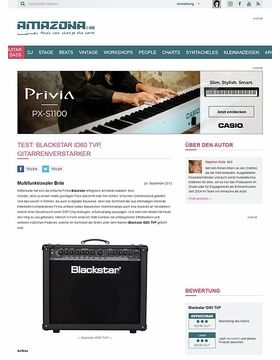 Test: Blackstar ID60 TVP, Gitarrenverstärker
