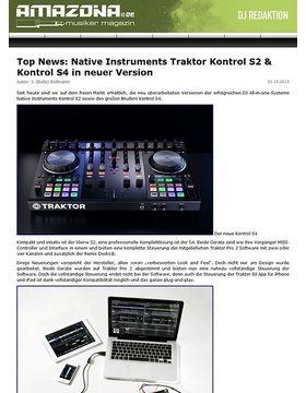 Top News: Native Instruments Traktor Kontrol S2 & Kontrol S4 in neuer Version