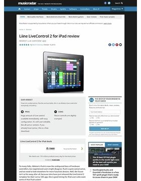 Liine LiveControl 2 for iPad