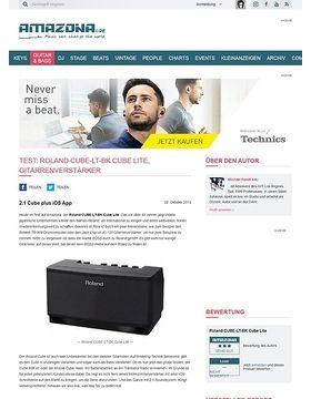 Test: Roland CUBE-LT-BK Cube Lite, Gitarrenverstärker