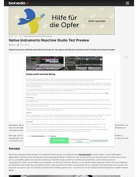 Vorschau: Native Instruments Maschine Studio