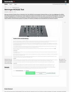 Behringer NOX101 Test