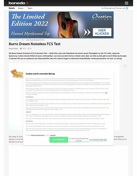 Burns Dream Noiseless FCS Test