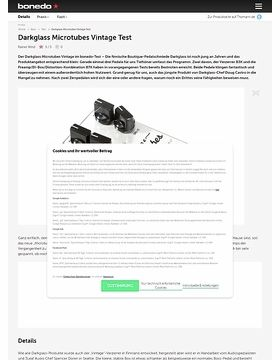 Darkglass Microtubes Vintage Test