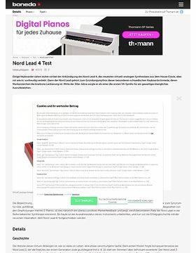 Nord Lead 4 Test