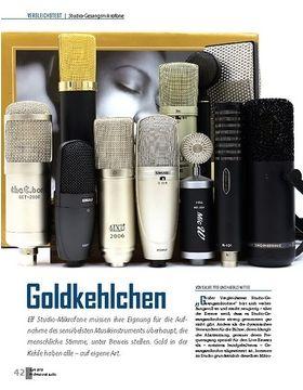 Studio-Gesangsmikrofone Vergleichstest