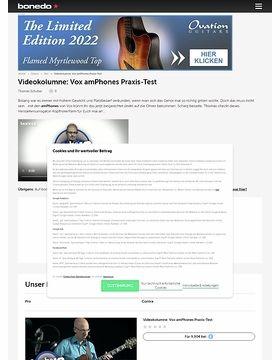 Videokolumne: Vox amPhones - Verstäker für die Ohren