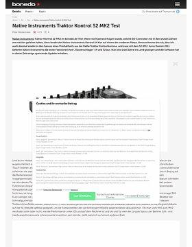 Native Instruments Traktor Kontrol S2 MK2 Test