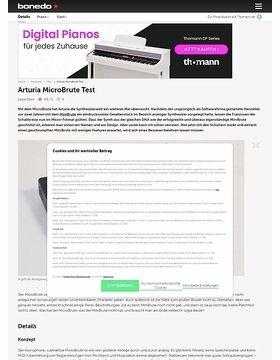 Arturia MicroBrute Test