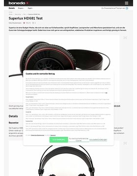 Superlux HD681