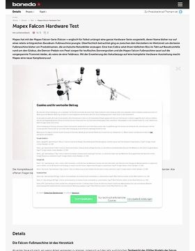 Mapex Falcon Hardware Test