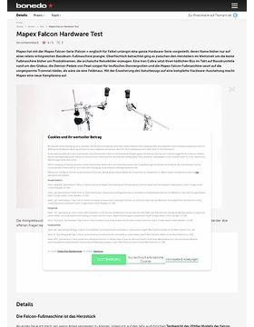 PF1000TW Falcon Double Pedal