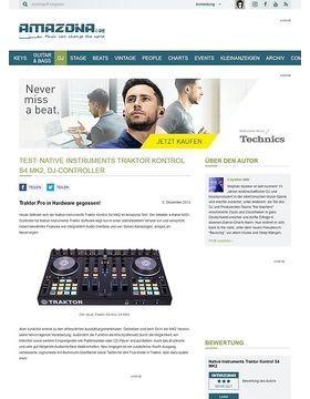 Test: Native Instruments Traktor Kontrol S4 MK2, DJ-Controller