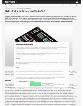 Native Instruments Maschine Studio Test
