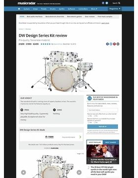 DW Design Series Kit
