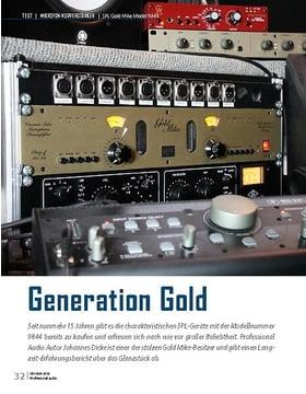 SPL Gold Mike Model 9844