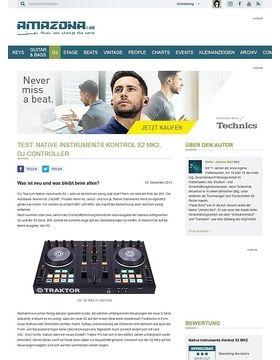 Test: Native Instruments Kontrol S2 MK2, DJ-Controller