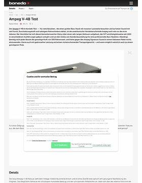 Ampeg V-4B Test