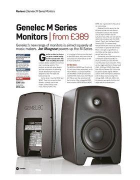 Genelec M Series Monitors