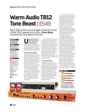 Warm Audio TB12 Tone Beast