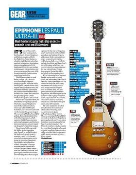 Epiphone Les Paul Ultra-III
