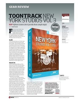 Toontrack New York Studios Vol 3