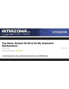Top News: Roland FA-06 & FA-08, Keyboard-Workstations