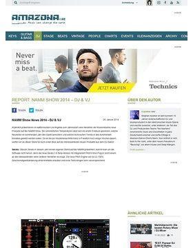 Report: NAMM Show 2014 - DJ & VJ