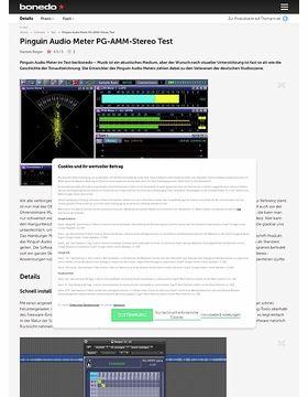 Pinguin Audio Meter PG-AMM-Stereo