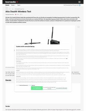 Alto Stealth Wireless Test