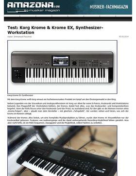 Test: Korg Krome, Keyboard Workstation