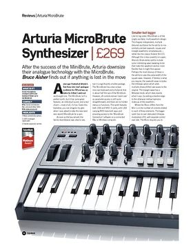 Arturia MicroBrute Synthesizer