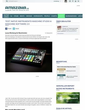 Test: Native Instruments Maschine Studio & Maschine Software 2.0