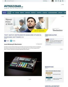 Test: Native Instruments Maschine Studio & Maschine Software 2.0