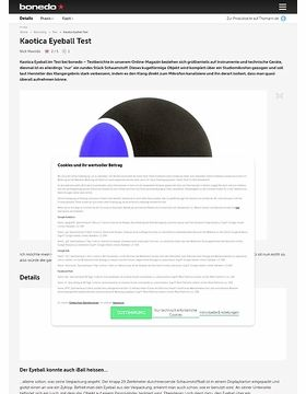 Kaotica Eyeball Test