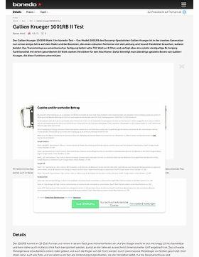 Gallien Krueger 1001RB II Test