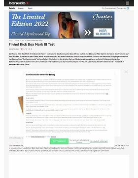 Finhol Kick Box Mark III Test
