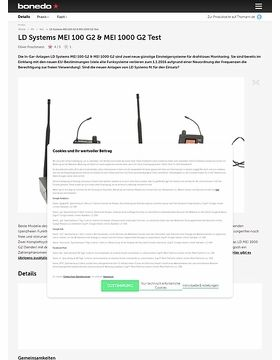 LD Systems MEI 100 G2 & MEI 1000 G2