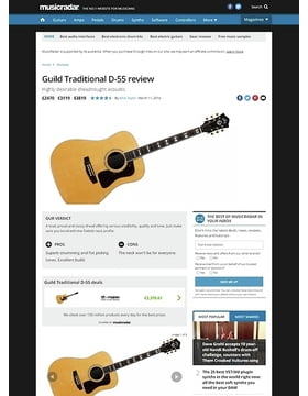 Guild Traditional D-55